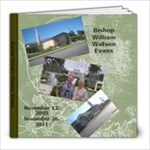 Bishop Evans - 8x8 Photo Book (100 pages)