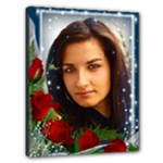 Beautiful with Red roses 20x16 Stretched canvas - Canvas 20  x 16  (Stretched)