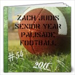 football ZACH SEN - 12x12 Photo Book (20 pages)