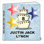 JUSTIN BAPTISM - 8x8 Photo Book (20 pages)