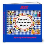 Peytons char meal auto book - 8x8 Photo Book (20 pages)
