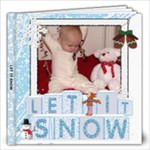 Let It Snow 12x12 60 Page Photo Book - 12x12 Photo Book (20 pages)