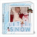 Let It Snow 8x8 30 Page Photo Book - 8x8 Photo Book (30 pages)