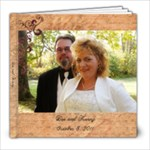 Dee and Kenny Wedding Photo Book - 8x8 Photo Book (20 pages)