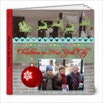 Christmas in New York - 8x8 Photo Book (20 pages)