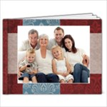 Traditions 9x7 Album. Family/Holidays - 9x7 Photo Book (20 pages)