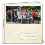 The Doyle Family PhotoBook - 12x12 Photo Book (20 pages)