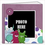 Monster Party 12x12 Book - 12x12 Photo Book (20 pages)