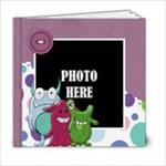Monster Party 6x6 Book - 6x6 Photo Book (20 pages)