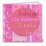 Lily 7 - 8x8 Photo Book (20 pages)