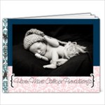 Haven newborn album in pink & blue - 7x5 Photo Book (20 pages)