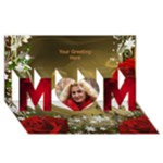 Loving Mother 3D Card - MOM 3D Greeting Card (8x4)