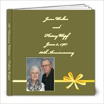 June & Harry s 50th Anniversary - 8x8 Photo Book (20 pages)
