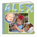 alex year 1 - 8x8 Photo Book (60 pages)
