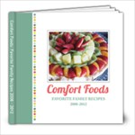 Recipe Book 2012 - 8x8 Photo Book (39 pages)