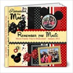 Disney Book 2012 - 8x8 Photo Book (20 pages)