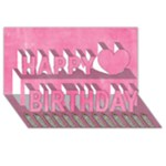 Brithday Girl - Happy Birthday 3D Greeting Card (8x4)