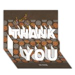 THANK YOU 3D Card (7x5) : thankful6 - THANK YOU 3D Greeting Card (7x5)