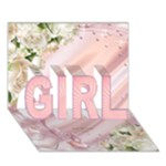 Announcing our GIRL 3D Card - GIRL 3D Greeting Card (7x5)