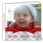 first christmas - 8x8 Deluxe Photo Book (20 pages)