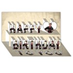 Celebration Happy Birthday 3D Card - Happy Birthday 3D Greeting Card (8x4)