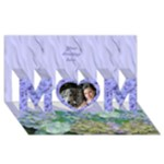 General Purpose 3D Mom Card - MOM 3D Greeting Card (8x4)