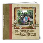 Summer Vacation 2011 - 8x8 Photo Book (20 pages)