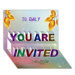 Bridal/Baby shower 3D Invitation Card - YOU ARE INVITED 3D Greeting Card (7x5)