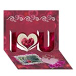 You re Awesome I Love YOU 3d Card - I Love You 3D Greeting Card (7x5)