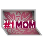 Mom Card - #1 MOM 3D Greeting Cards (8x4)