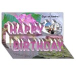 elgai.un.sandrai - Happy Birthday 3D Greeting Card (8x4)