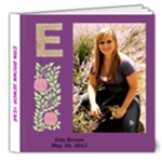 Erin s senior book - 8x8 Deluxe Photo Book (20 pages)