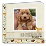 DOGGIE SCRAPBOOK - 8x8 Deluxe Photo Book (20 pages)