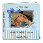 Charles Year One - 8x8 Photo Book (20 pages)