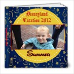 1st trip to Disneyland - 8x8 Photo Book (20 pages)