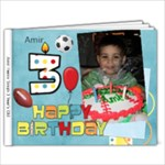 Amir 3 birthday - 9x7 Photo Book (20 pages)