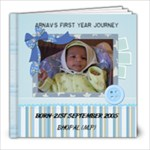 ARNAV - 8x8 Photo Book (20 pages)