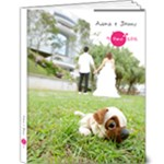 adora wedding book - 9x12 Deluxe Photo Book (20 pages)