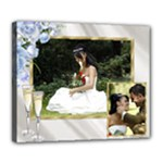 Anniversary/wedding/celebration  Deluxe 24x20 stretched Canvas - Deluxe Canvas 24  x 20  (Stretched)