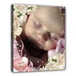 Baby girl Deluxe 24x20 Stretched Canvas - Deluxe Canvas 24  x 20  (Stretched)