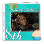 Jehrell 8th birthday party - 8x8 Photo Book (30 pages)