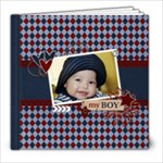 8x8 (30 pages) : My Boy - Any Theme - 8x8 Photo Book (30 pages)