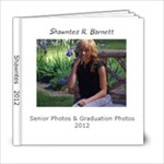shawntes graduation - 6x6 Photo Book (20 pages)