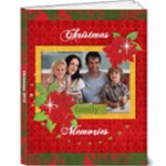 Christmas/Family/Holiday 9x12 Deluxe Photo Book - 9x12 Deluxe Photo Book (20 pages)