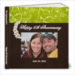 6th anniversary - 8x8 Photo Book (20 pages)