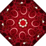 Love Red folding umbrella