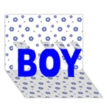 It s A Boy Card - BOY 3D Greeting Card (7x5)