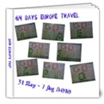2010 Europe - 8x8 Deluxe Photo Book (20 pages)