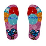 cute bird aqn balloon kids flip flops - Kids  Flip Flops