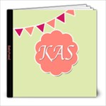 Monogram -- Baby Book Sample - 8x8 Photo Book (20 pages)